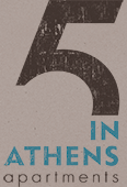 Apartments for rent in Athens Greece - 5inAthens